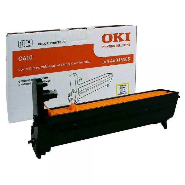 OKI C610 Bildtrommel Yellow