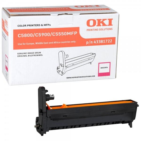 OKI C5800, C5900, C5550MFP Bildtrommel Magenta