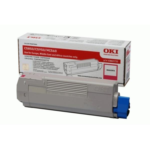 OKI C5850, C5950, Mc560 Magenta
