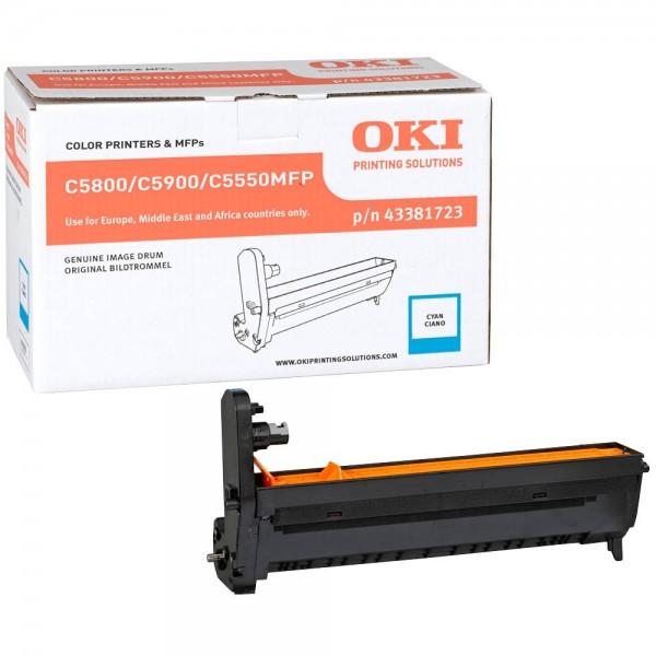 OKI C5800, C5900, C5550MFP Bildtrommel Cyan