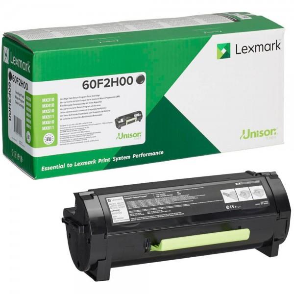 Lexmark 60F2H00 BK