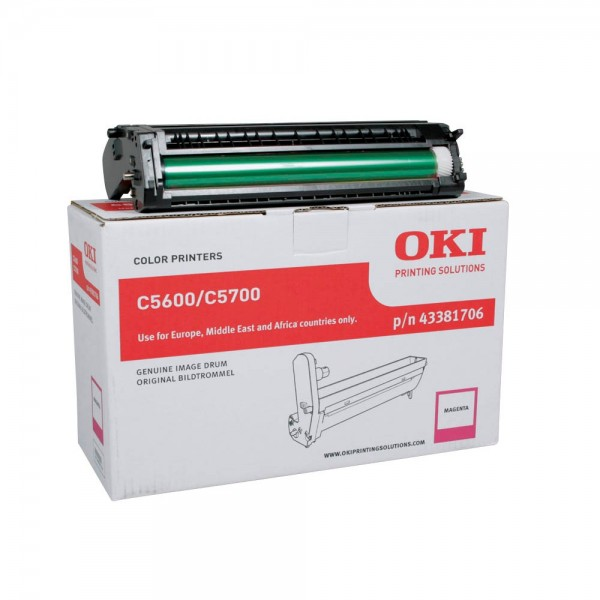 OKI C5600 , C5700 Bildtrommel Magenta