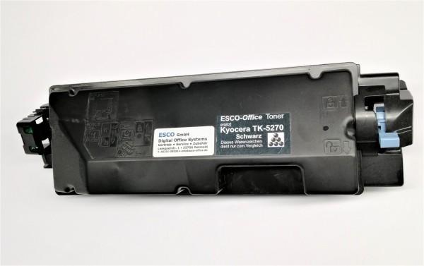 ESCO-Toner ersetzt Kyocera TK-5270 Black