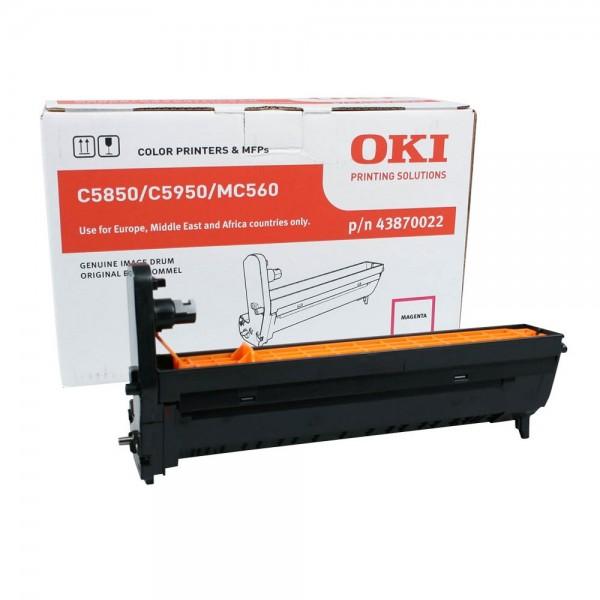 OKI C5850, C5950, MC560 Bildtrommel Magenta