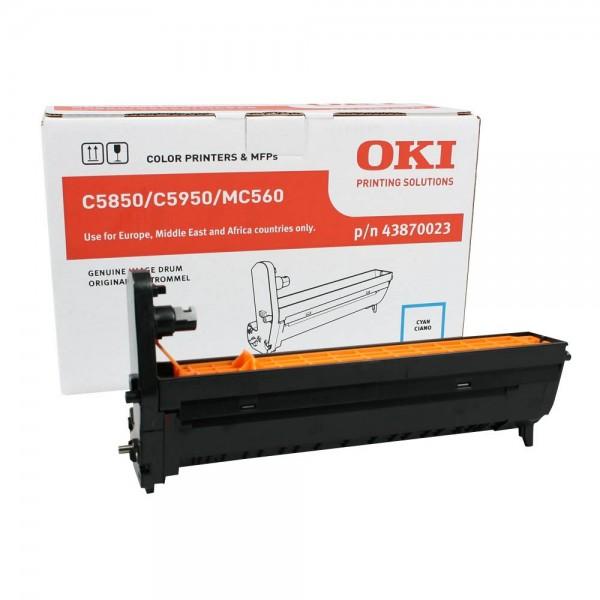 OKI C5850, C5950, MC560 Bildtrommel Cyan