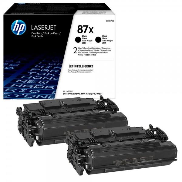 HP CF-287XD BK