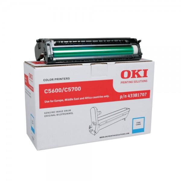OKI C5600 , C5700 Bildtrommel Cyan