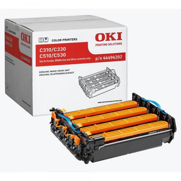 OKI C-530 Bildtrommeln. Alle Farben 44494202