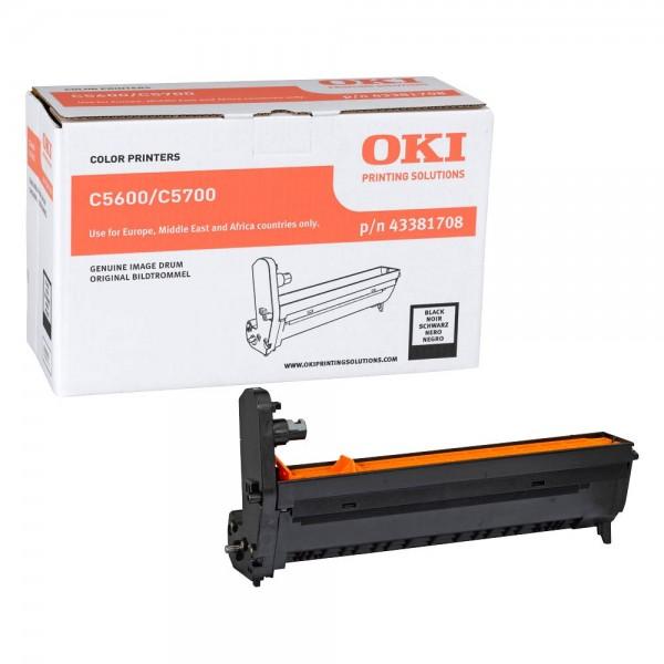 OKI C5600 , C5700 Bildtrommel BK