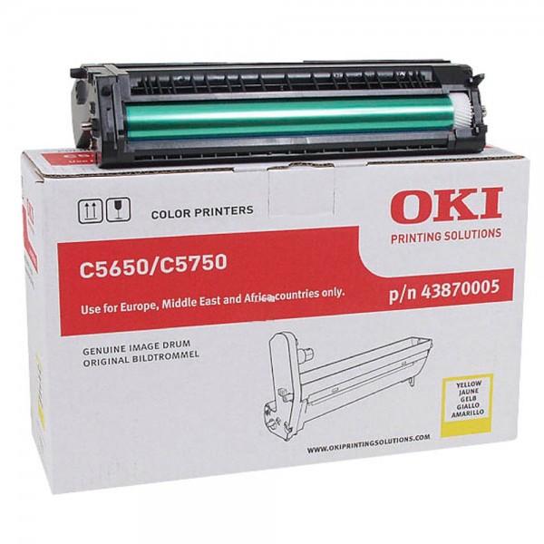 OKI C5650, C5750 Bildtrommel Yellow
