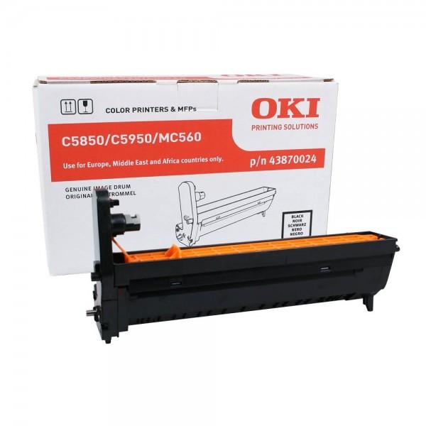 OKI C5850, C5950, MC560 Bildtrommel BK
