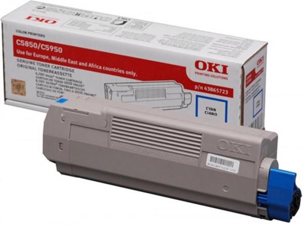 OKI C5850, C5950, Mc560 Cyan